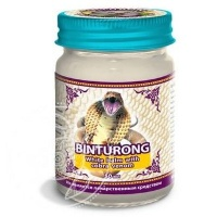 Binturong Белый бальзам с ядом Кобры White balm with cobra venom